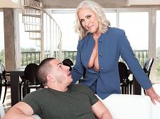 <b>huge-boobed 60plus Realtor Katia Bangs 23-year-old Customer</b>