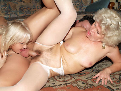 Super-hot Elderly Gals Having A Trio-approach